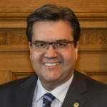 Portrait du Maire de Montréal, l'Honorable Denis Coderre