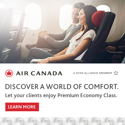 Air Canada - A world of Comfort
