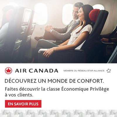 Air Canada - Un monde de confort